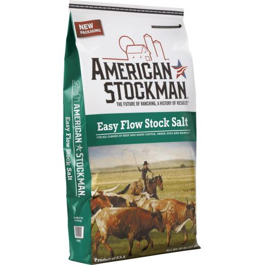 American Stockman 50 Lb. 95% Purity Easy Flow Stock Salt