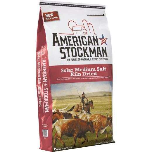 American Stockman 50 Lb. 95% Purity Solar Medium Salt