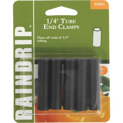 Raindrip 1/4 In. Tube End Clamp (5-Pack)