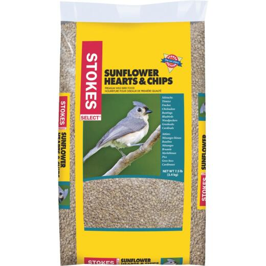 Stokes Select 7.5 Lb. Sunflower Hearts & Chips