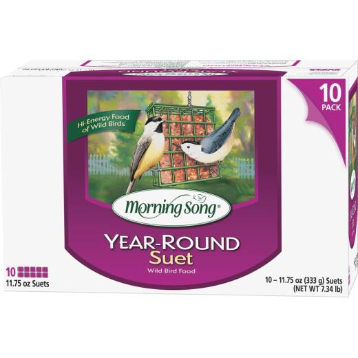 Morning Song Year Round Value Pack Suet (10-Pack)