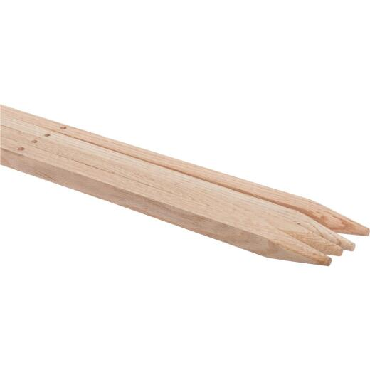 Madison Mill 60 In. Oak Wood Plant Stake (4-Pack)