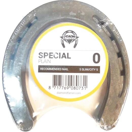 Diamond Special Plain Front & Hind 5 In. Horseshoe (1-Pair)