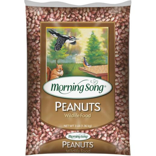 Morning Song 3 Lb. Shelled Peanuts