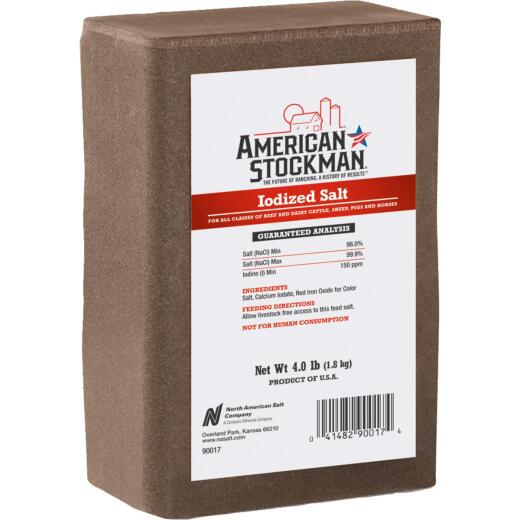 American Stockman 4 Lb. Iodized Salt Block