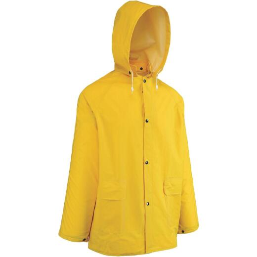 West Chester XL Yellow PVC Raincoat
