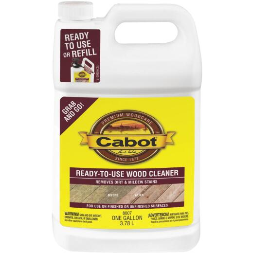 Cabot 1 Gal. Ready-To-Use Wood Cleaner