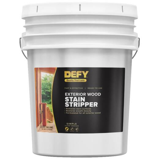 DEFY 5 Gal. Exterior Wood Stain Stripper