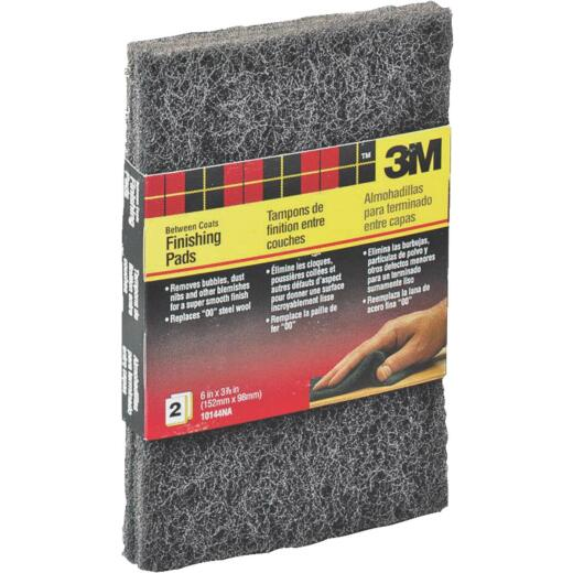 3M 3-7/8 In. x 6 In. Finishing Pad (2 Count)