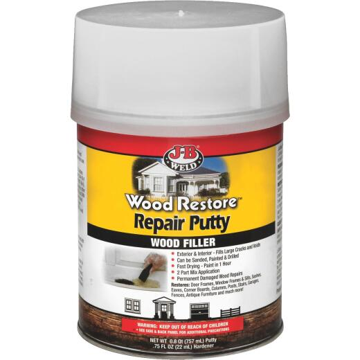 J-B Weld Wood Restore 32 Oz. 2-Part Repair Wood Putty