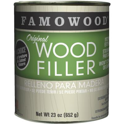 FAMOWOOD Natural  23 Oz. Wood Filler
