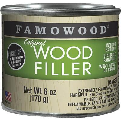 FAMOWOOD Cedar  6 Oz. Wood Filler