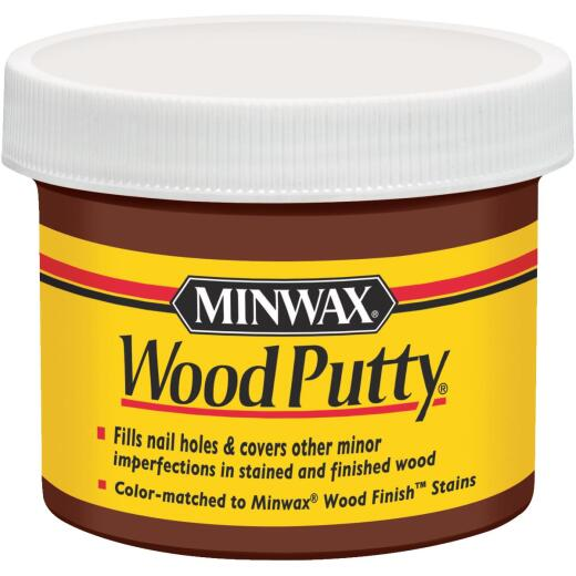 Minwax 3.75 Oz. Walnut Wood Putty