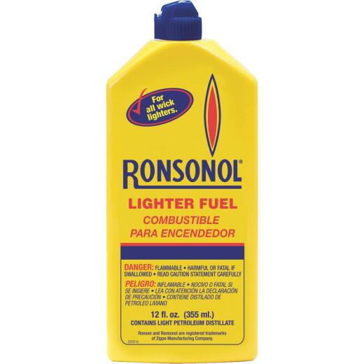 Ronson 12 Oz. Lighter Fuel
