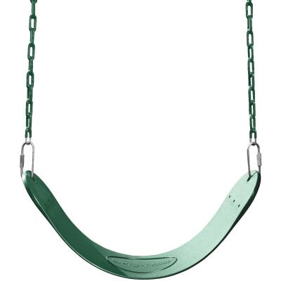 Swing N Slide Curved Oval Green Swing Seat