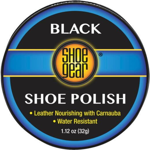Shoe Gear 1-1/8 Oz. Black Paste Shoe Polish