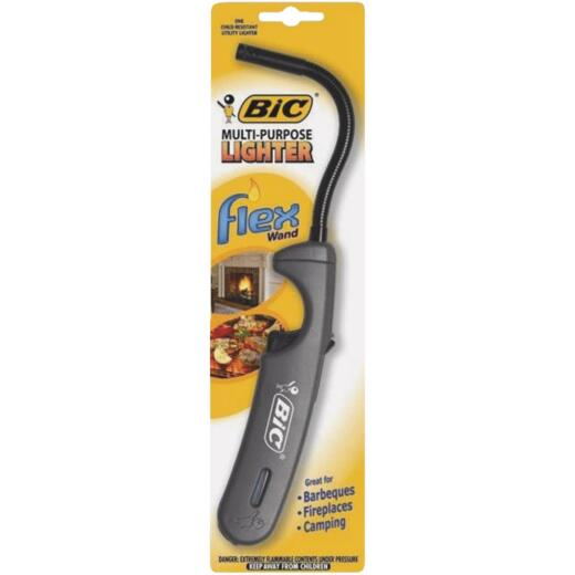 BIC Nonrefillable Flexible Stem Utility Butane Lighter