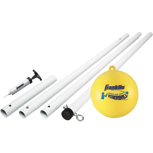Franklin 8 Ft. H. Enameled Steel Pole Tetherball Set