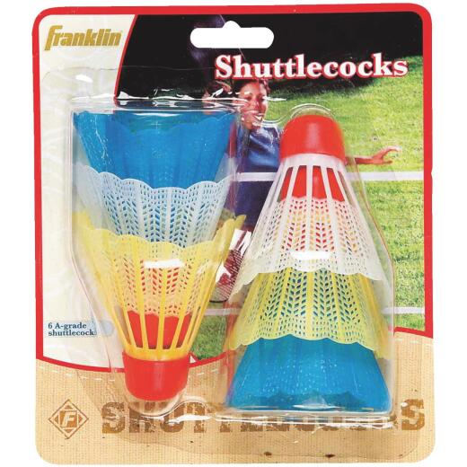 Franklin Badminton Shuttlecock (6-Pack)