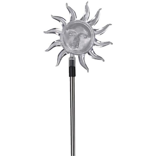 Moonrays Acrylic Sun & Moon Stake Light