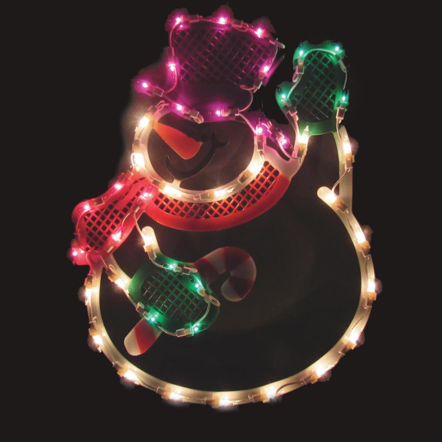 J Hofert 18 In. Incandescent Lighted Snowman Image 1