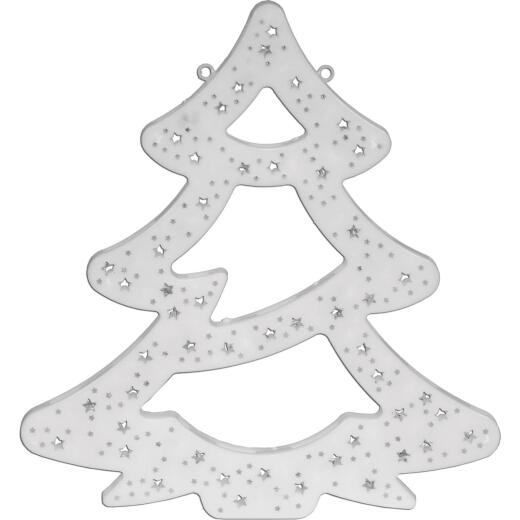 Alpine 16 In. H. Flashing Multi LED Lighted Christmas Tree