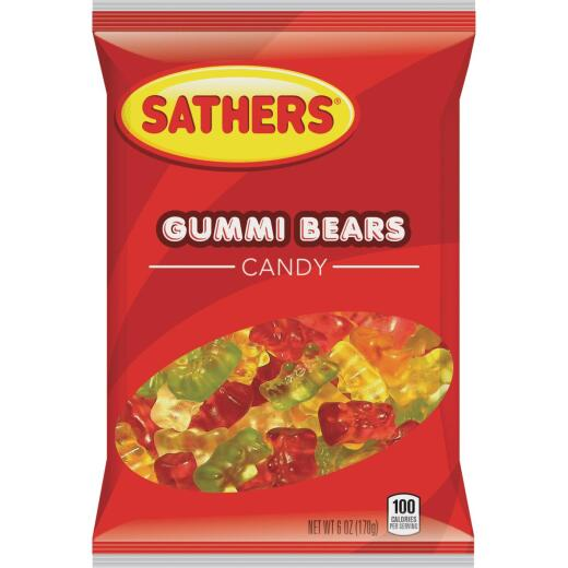Sathers Assorted Fruit Flavors 6 Oz. Gummi Bears