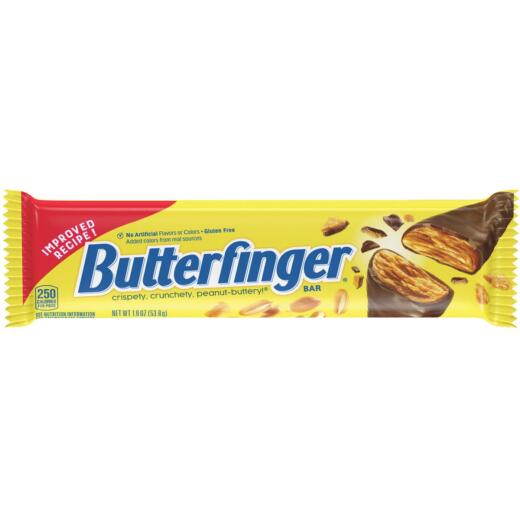 Butterfinger 1.9 Oz. Chocolate & Crunchy Peanut Butter Candy Bar