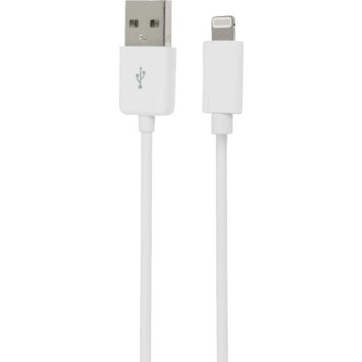 GetPower 3 Ft. Apple Lightning Charging & Sync Cable