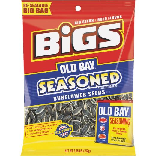 Bigs 5.35 Oz. Old Bay Seasoned Sunflower Seeds