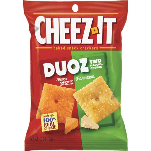 Cheez-it 4.3 Oz. Duoz Sharp Cheddar & Parmesan Crackers