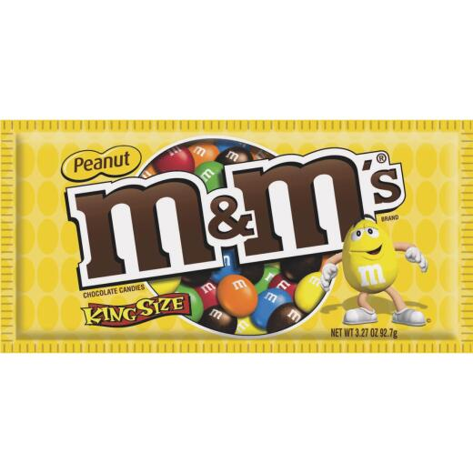 M&M's Peanut 3.27 oz Candy
